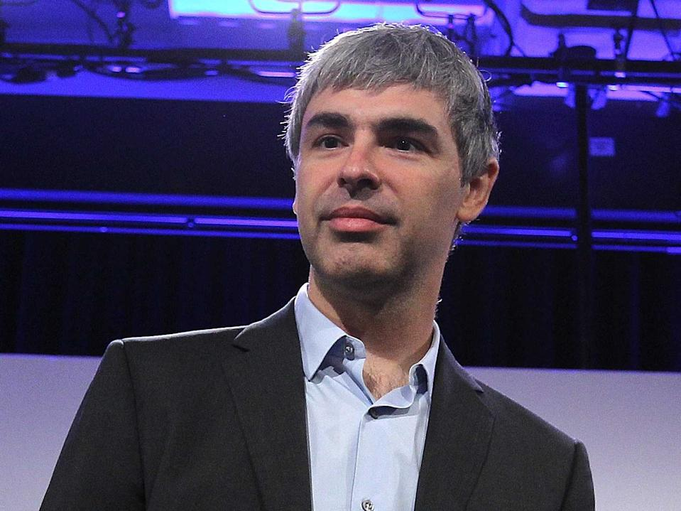 larry page, google, sv100 2015