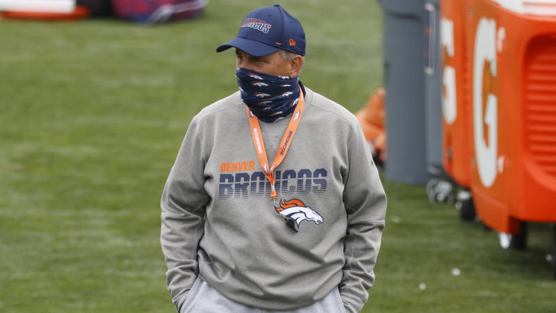 Denver Broncos head coach Vic Fangio