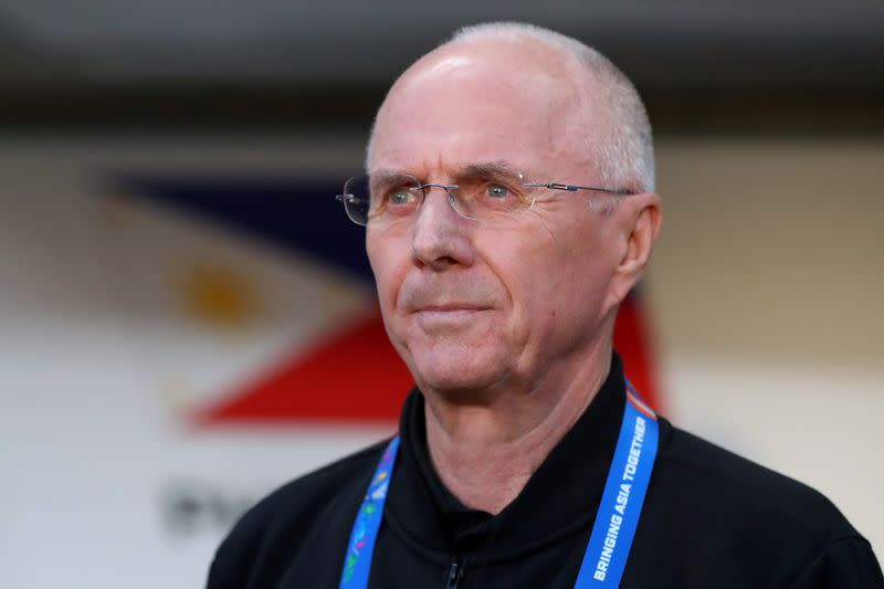 Former England coach Eriksson in for Newcastle Jets job, says CEO