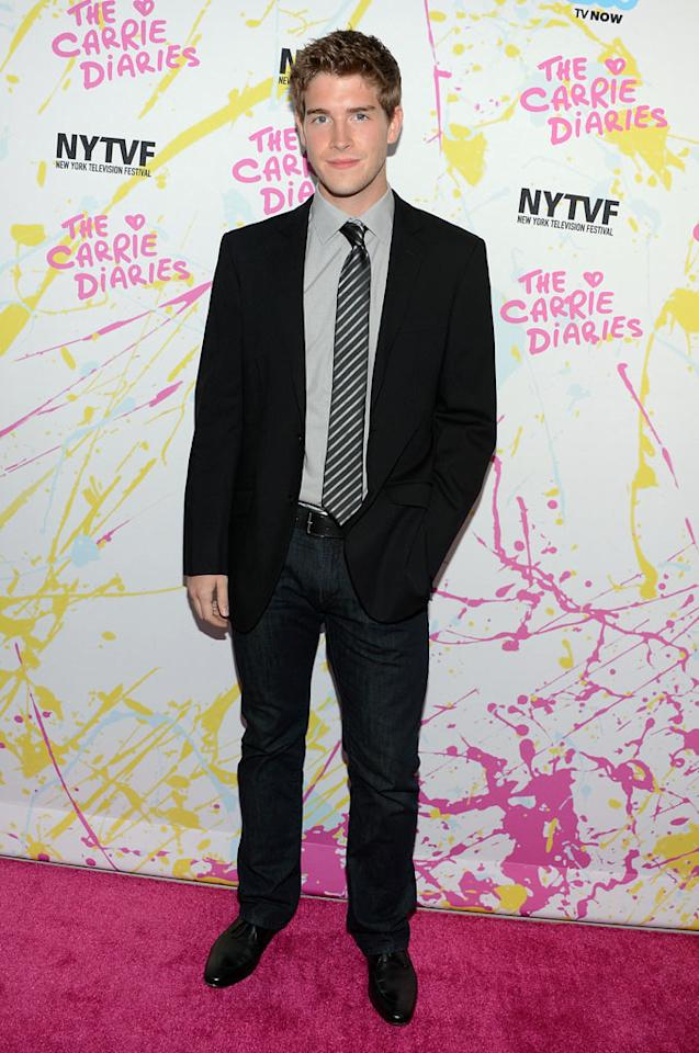 "Brendan Dooling attends ""The Carrie Diaries"" Premiere during the 2012 New York Television Film Festival at SVA Theater on October 22, 2012 in New York City."