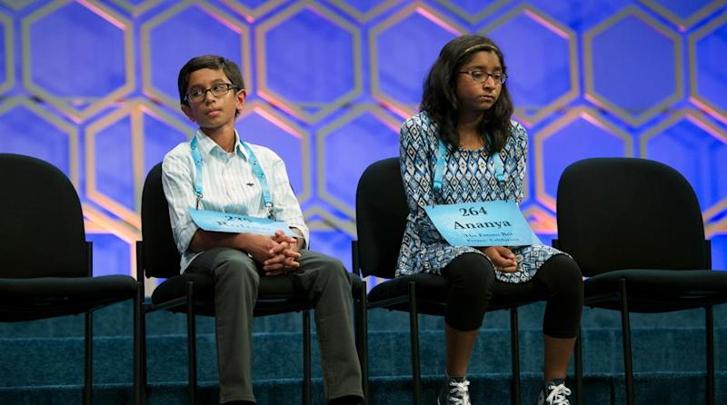 Scripps National Spelling Bee: Sixth-grader spells 'marocain' for the win