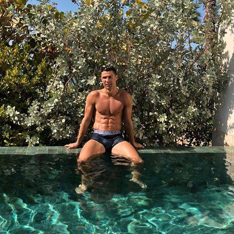 """<p>This photo from January 2019 looks almost too good to be real—and Ronaldo knows it. He captioned the thirst trap with the words """"sem filtro,"""" or """"no filter.""""</p><p><a href=""""https://www.instagram.com/p/BsP4tmrg_eM/"""" rel=""""nofollow noopener"""" target=""""_blank"""" data-ylk=""""slk:See the original post on Instagram"""" class=""""link rapid-noclick-resp"""">See the original post on Instagram</a></p>"""
