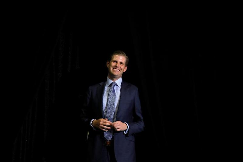 Eric Trump: public can see through Democrats on government shutdown