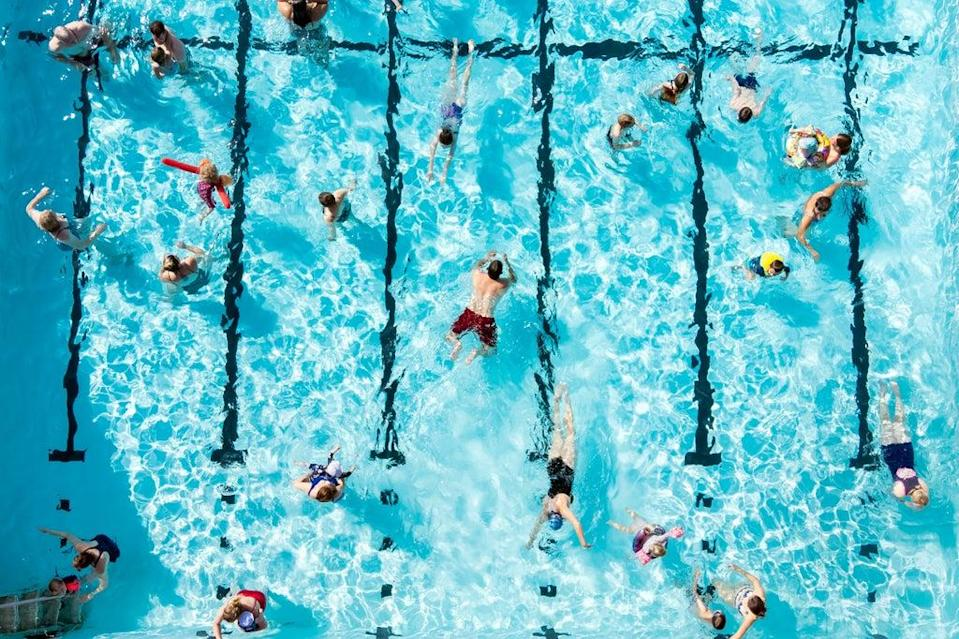 Hathersage swimming pool in the Hope Valley, Peak District (Danny Lawson/PA) (PA Wire)