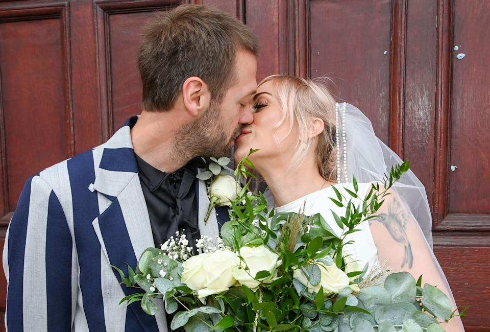 Tom Meighan And Vikki Ager have been engaged since 2017. (Getty Images)