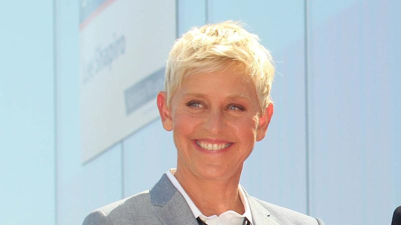 Ellen DeGeneres explains hanging out with her friend George W. Bush