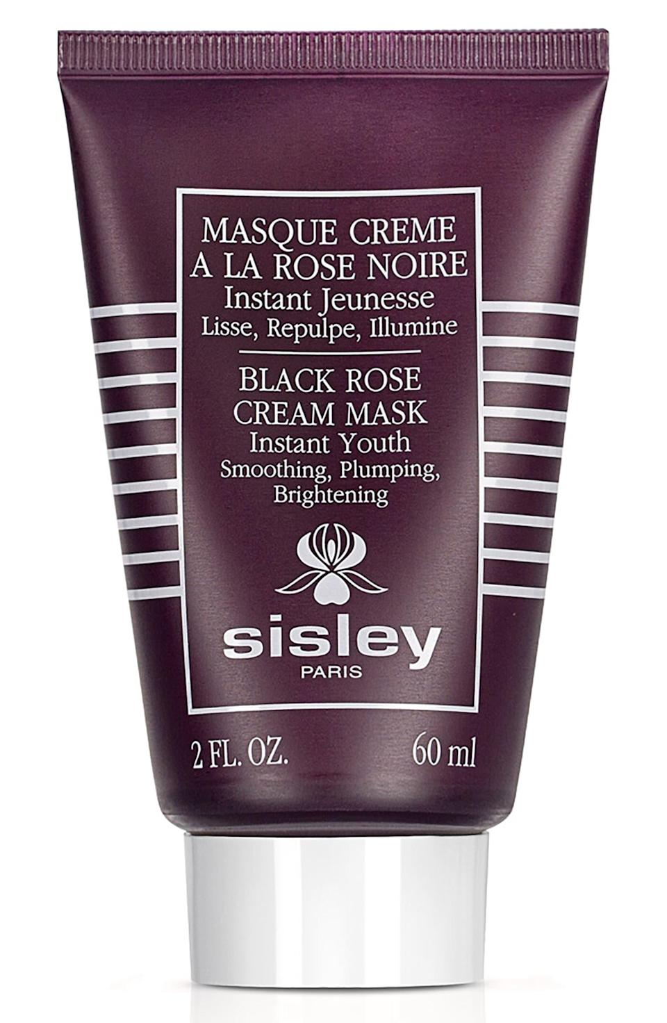 "<h3>Sisley Paris Black Rose Cream Mask</h3> <br>If you treat your mom to one splurge-worthy skin-care item, a potent face mask will get you the best bang for your buck. Sisley's beloved cream mask is like a facial in a tube, and your mom will feel like the star she is.<br><br><strong>Sisley Paris</strong> Black Rose Cream Mask, $, available at <a href=""https://go.skimresources.com/?id=30283X879131&url=https%3A%2F%2Fshop.nordstrom.com%2Fs%2Fsisley-paris-black-rose-cream-mask%2F3465681%2Flite"" rel=""nofollow noopener"" target=""_blank"" data-ylk=""slk:Nordstrom"" class=""link rapid-noclick-resp"">Nordstrom</a><br>"