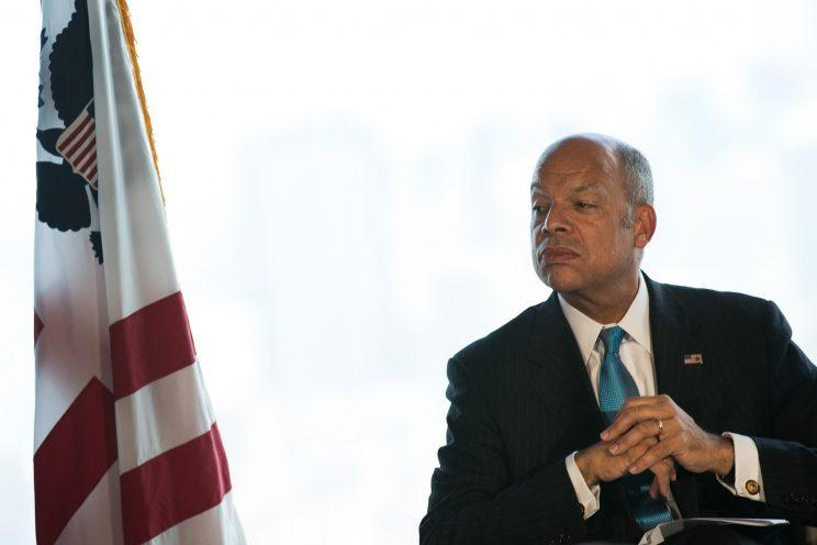 Former Secretary of Homeland Security Jeh Johnson.