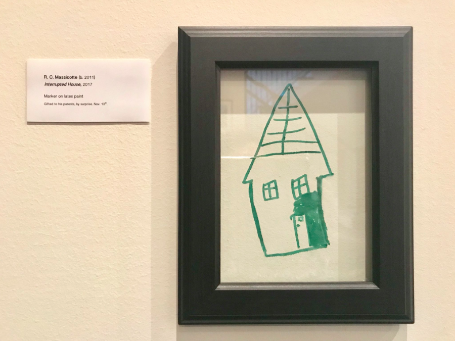 A couple have shared their fix for their child's wall 'art' [Photo: Twitter]
