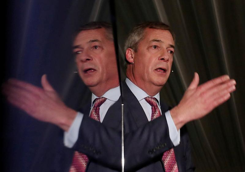 Nigel Farage has been warned he has 48 hours to 'save Brexit' (REUTERS)