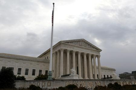 FILE PHOTO: The building of the U.S. Supreme Court is pictured in Washington