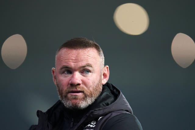 Derby manager Wayne Rooney has made a good impression on the club's administrators
