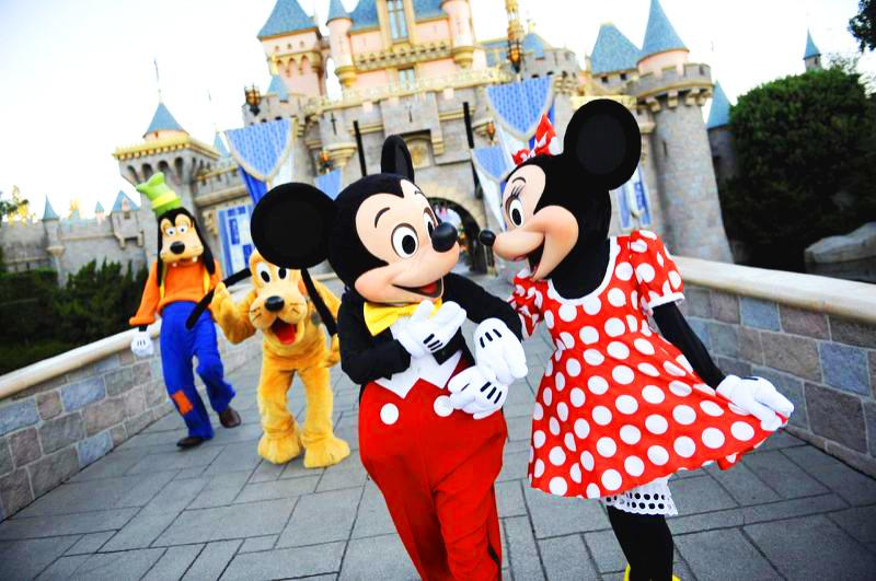 Mickey och Minnie dating sedan