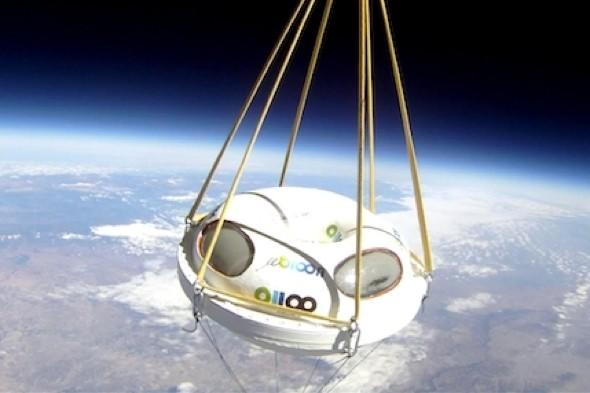 Meet the 'bloom': Hot air balloon rides in to space by 2013