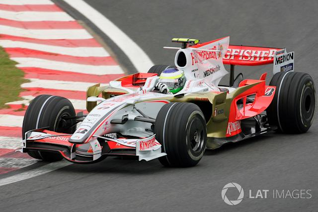 """Force India 2008 <span class=""""copyright"""">Sutton Motorsport Images</span>"""
