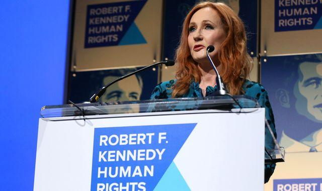 JK Rowling returns human rights award over criticism of 'anti-trans comments'