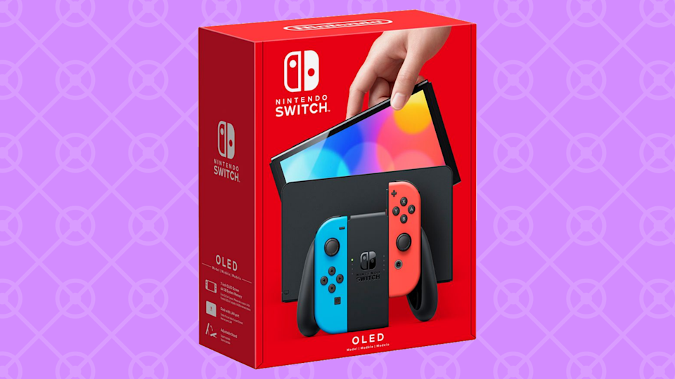 The new Nintendo Switch OLED isn't out until October 8, but you can pre-order today! (Photo: Nintendo)
