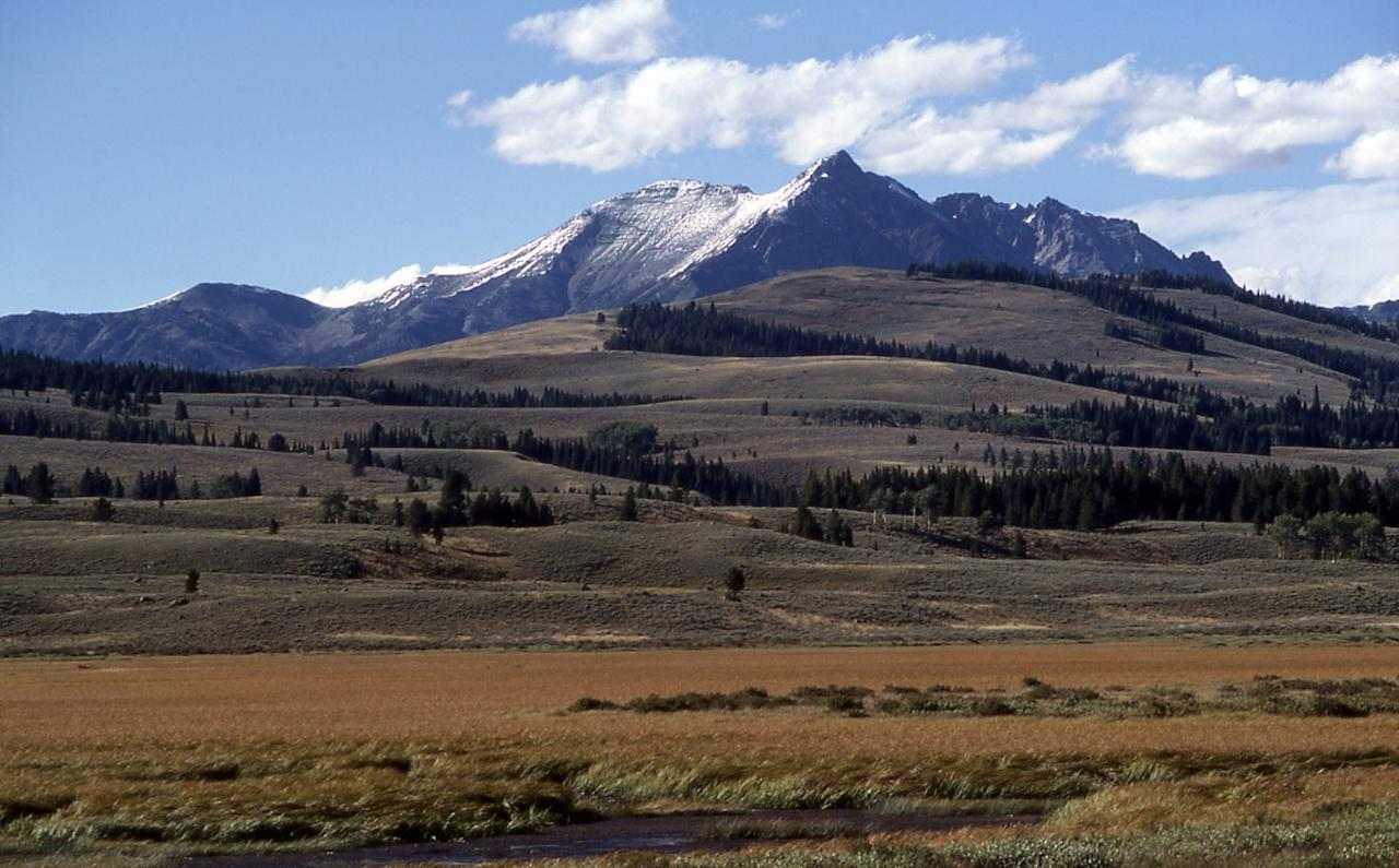 Yellowstone's Electric Peak; J Schmidt