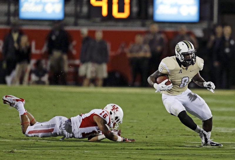 No. 19 UCF hangs on for 19-14 win over Houston