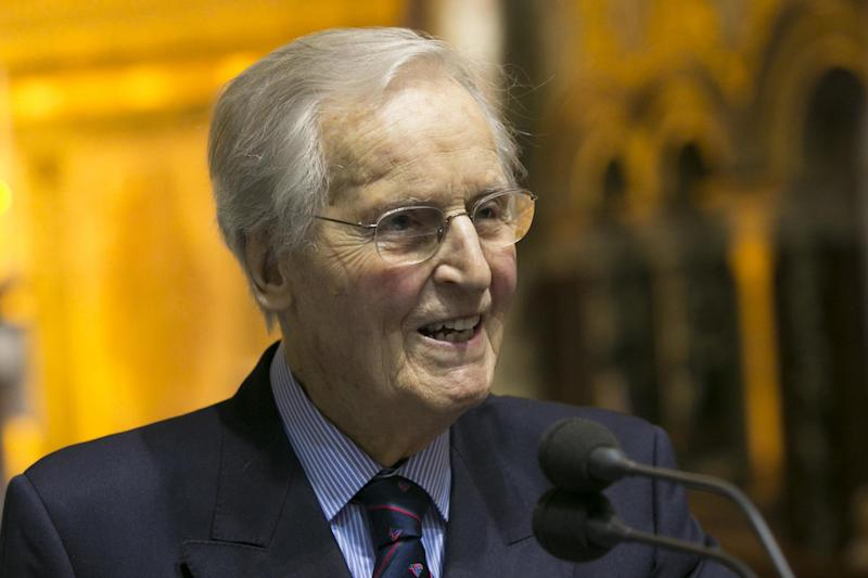 Nicholas Parsons: The host, 94, has appeared on the show for more than 50 years: Getty Images