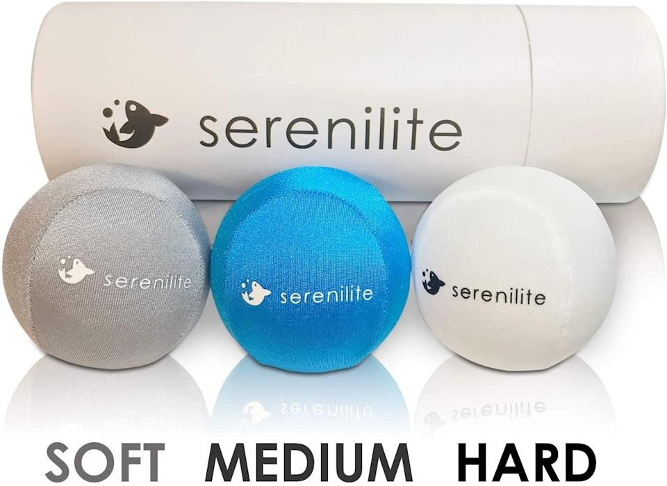 <p>If they really just need something to squeeze, gift them this <span>Serenilite Stress Ball Bundle</span> ($21). There are three different balls depending on just how stressed they're feeling.</p>