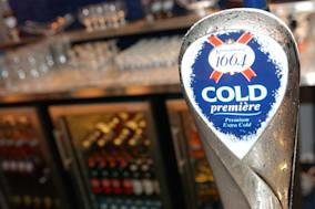 A beer tap for Scottish & Newcastle's Kronenbourg 1664 produ