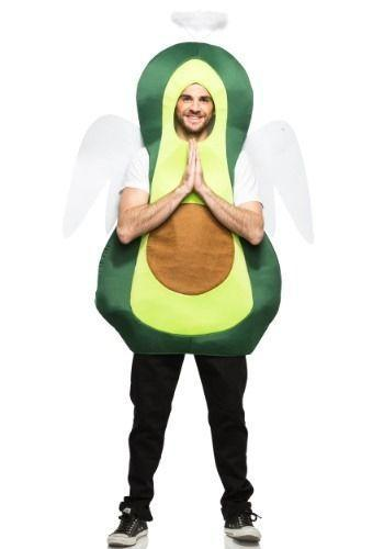 """<p>halloweencostumes.com</p><p><strong>$44.99</strong></p><p><a href=""""https://go.redirectingat.com?id=74968X1596630&url=https%3A%2F%2Fwww.halloweencostumes.com%2Fadult-holy-guacamole-costume.html&sref=https%3A%2F%2Fwww.delish.com%2Fholiday-recipes%2Fhalloween%2Fg3038%2Fbest-food-halloween-costumes%2F"""" rel=""""nofollow noopener"""" target=""""_blank"""" data-ylk=""""slk:BUY NOW"""" class=""""link rapid-noclick-resp"""">BUY NOW</a></p><p>Punny and comfortable. Blessed!</p>"""