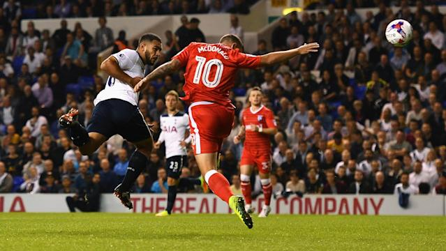 The U.S. youth international went the full 90 minutes in central defense as Tottenham rolled to a 5-0 win over Gillingham in the League Cup.