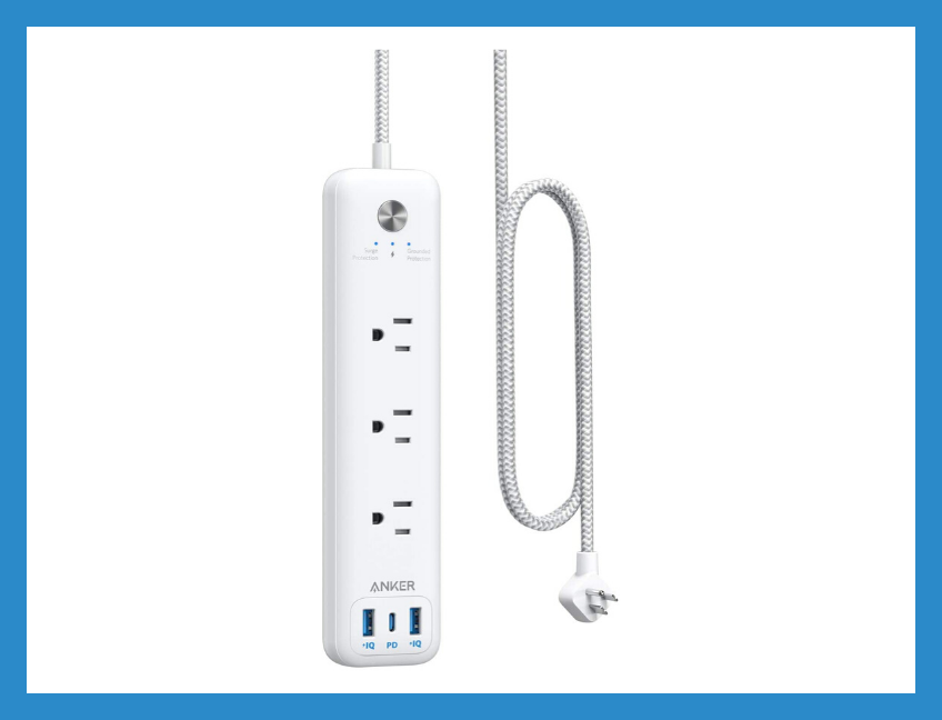 Save 33 percent on this Anker USB-C/Outlet Power Strip, today only. (Photo: Amazon)