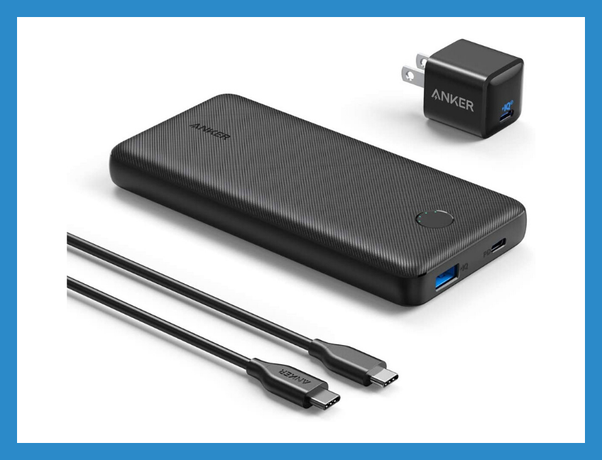 Save 47 percent on this Anker PowerCore Essential 20000 PD battery bank, today only. (Photo: Amazon)