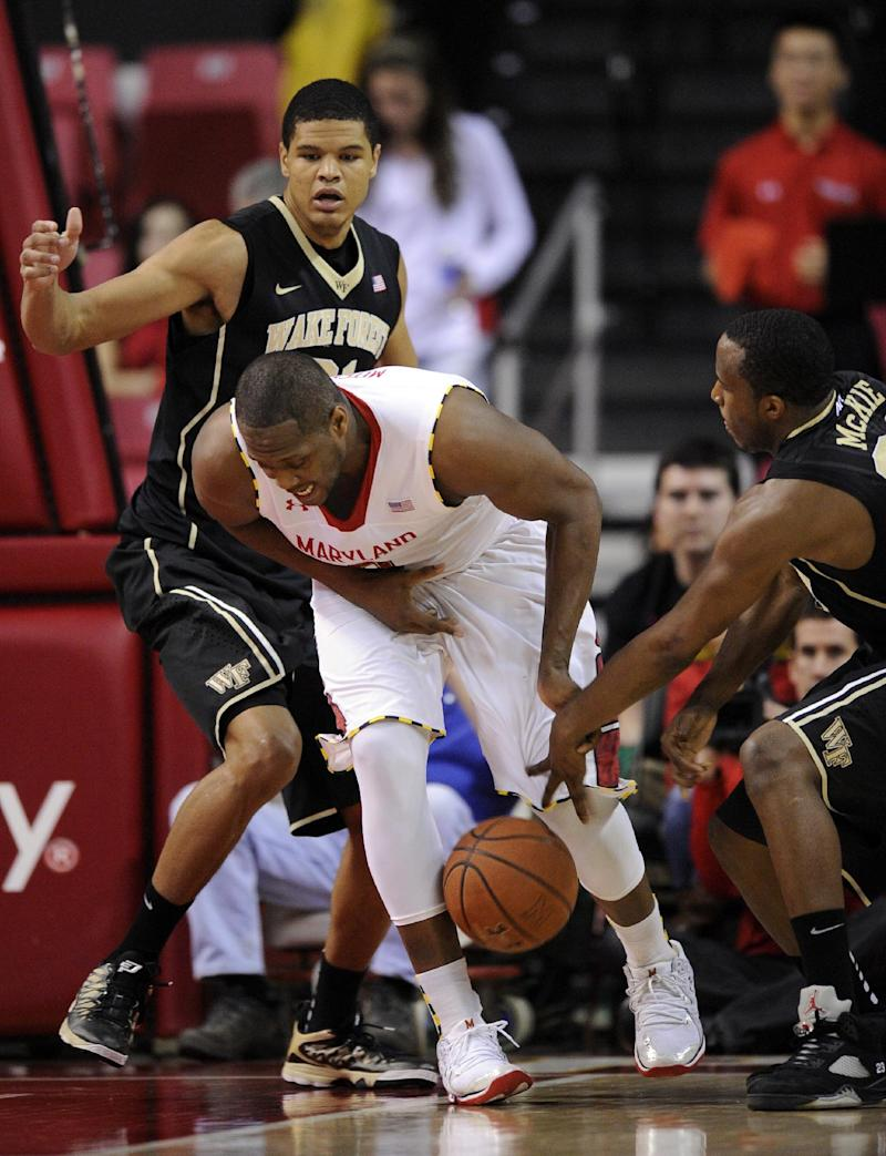 Maryland extends Wake Forest skid with 71-60 win