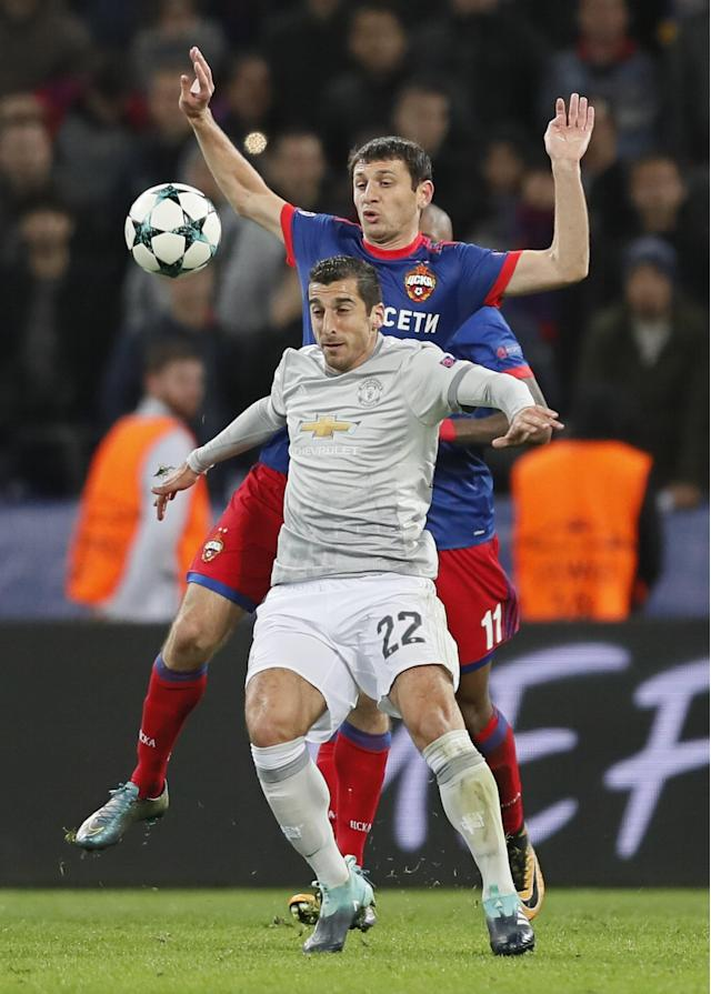 Henrikh Mkhitaryan has enjoyed a superb start to the season with five assists in the Premier League