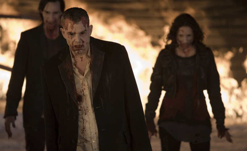 Danny Huston in a still from <i>30 Days of Night</i>. (Columbia Pictures)