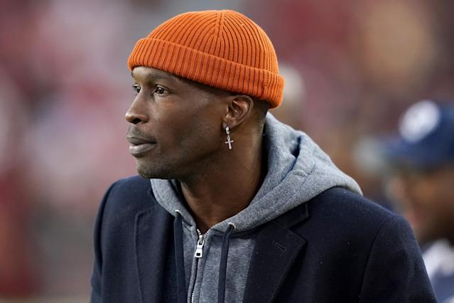 Former NFL receiver Chad Ochocinco Johnson is working out for the XFL as a kicker. (Thearon W. Henderson/Getty Images)