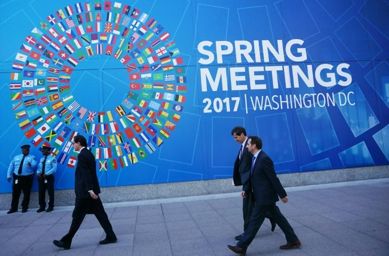 The International Monetary Fund's 189 members are due to stage a semi-annual meeting in Washington, DC, this week