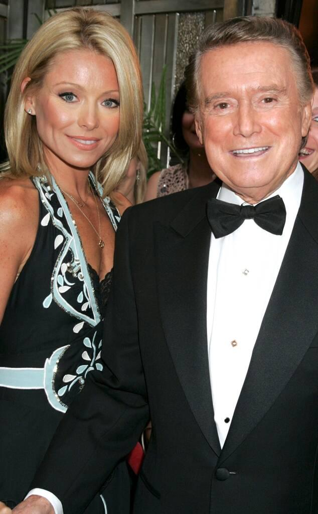 Kelly Ripa, Regis Philbin