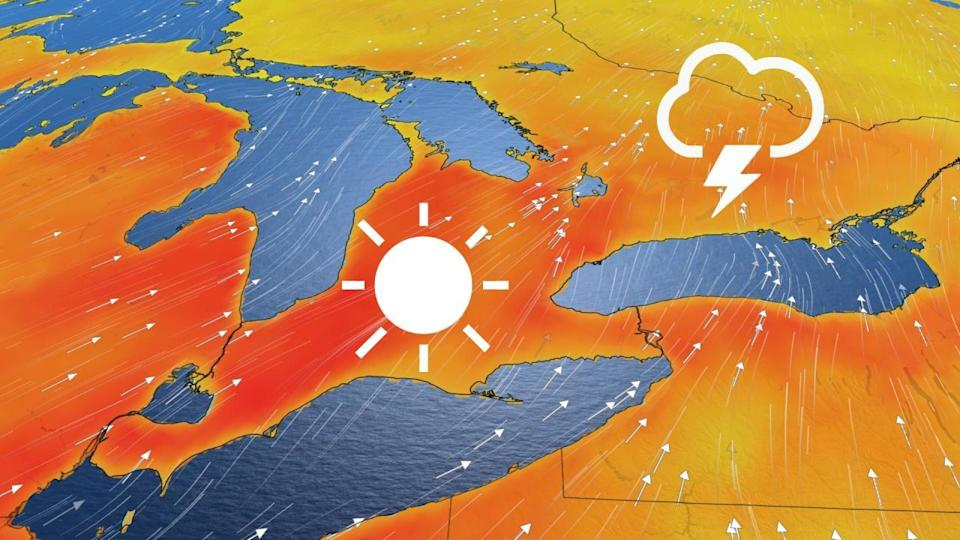 Temperatures will soar above 30°C in parts of Ontario on Tuesday
