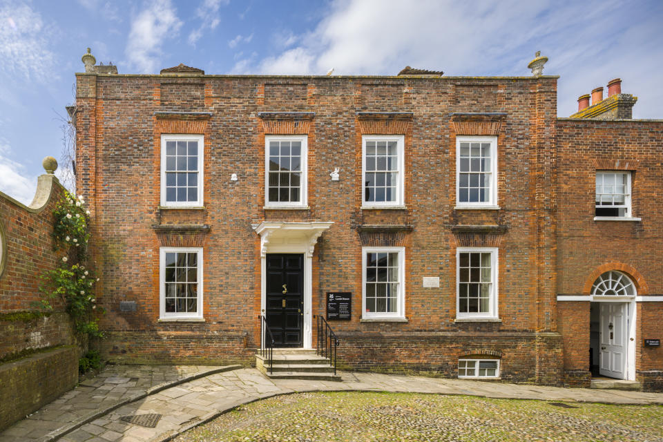 The front of Lamb House in East Sussex [Photo: National Trust Images/ Andrew Butler]