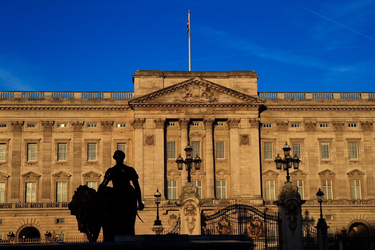 A general view of Buckingham Palace, London