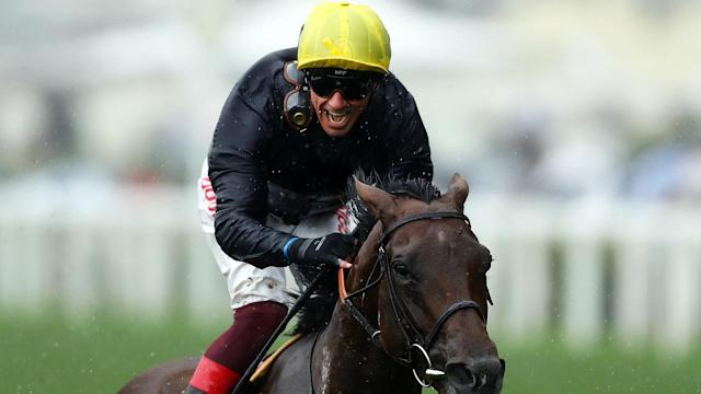 Frankie Dettori produced yet another brilliant ride on Crystal Ocean to win the feature race on day two at Royal Ascot.