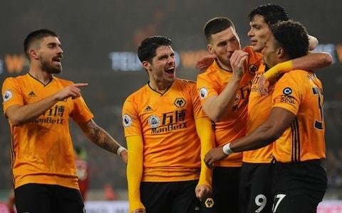 Wolves deserve huge credit for their performance - Credit: Getty Images