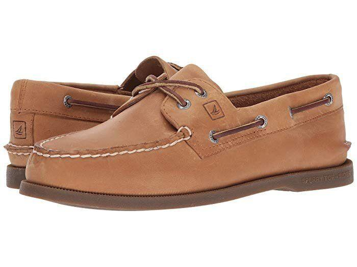 "These Sperry shoes have a leather upper and dri-lex sock liner. <strong><a href=""https://fave.co/2HLDMiX"" target=""_blank"" rel=""noopener noreferrer"">Find them for $95 at Zappos.</a></strong>"