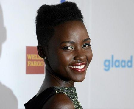 Lupita Nyong'o attends the 25th annual GLAAD Media Awards in Beverly Hills