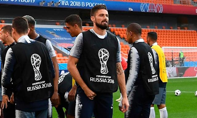 France turn to Olivier Giroud in bid to up their game against Peru