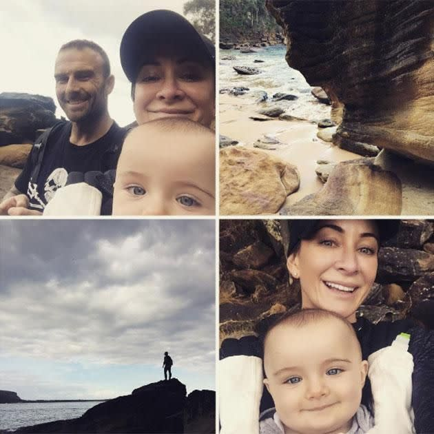 The couple welcomed son Axel in 2015. Source: Instagram