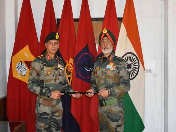 Lt Gen PGK Menon takes over command of 'Fire and Fury Corps', from Lt Gen Harinder Singh.