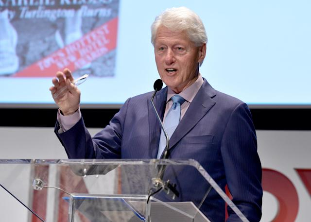 Monica Lewinsky says she was uninvited to an event because Bill Clinton RSVPed. (Photo: Getty Images)