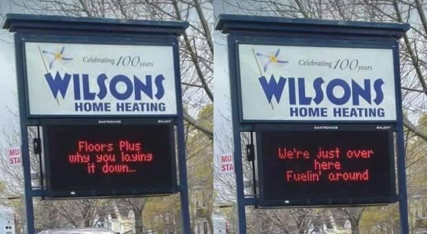 Wilson's Home Heating had a gas and called out Floors Plus.
