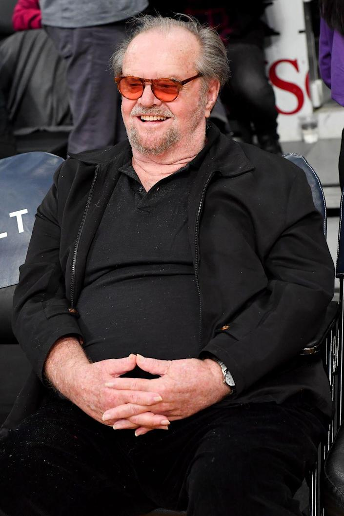 """<p>Now: Nicholson has had a <a href=""""https://www.imdb.com/name/nm0000197/bio?ref_=nm_ov_bio_sm"""" rel=""""nofollow noopener"""" target=""""_blank"""" data-ylk=""""slk:massively successful career"""" class=""""link rapid-noclick-resp"""">massively successful career </a>filled with movies like One Flew Over the Cuckoo's Nest, The Shining, Batman and The Departed. He has three Academy Awards, three BAFTA Awards, six Golden Globes, one Grammy and one Screen Actors Guild Award.</p>"""