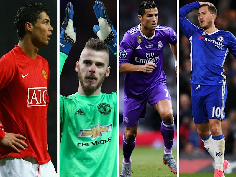Ronaldo will be swapped for lost of cash and EITHER David De Gea OR Eden Hazard - or he might stay at Real Madrid